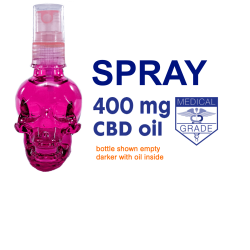 400mg CBD Oil Spray