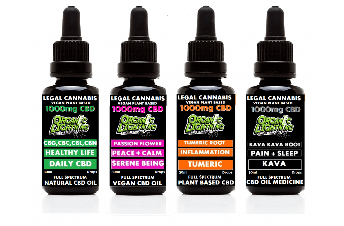 FROM OUR HAWAII FARM - CBD Drops & Vape Products